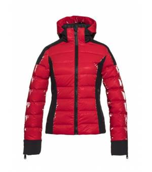 Goldbergh Strong W Ski Jacket Ruby Red bunda