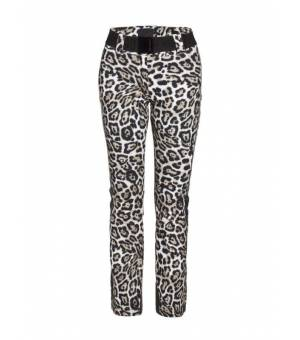 Goldbergh Roar W Ski Pants Leopard nohavice