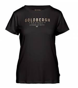 Goldbergh Daisy Short Sleeve tričko čierne