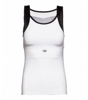 Goldbergh Zoeli Sleeveless Top White tielko