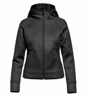 Goldbergh Ufita Hooded W Jacket Black mikina