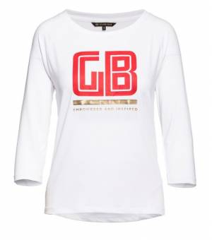 Goldbergh Daphne 3/4 Sleeve Top White tričko biele
