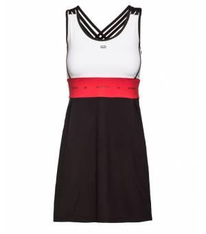 Goldbergh Jinda Dress Black/White šaty