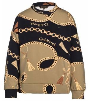 Goldbergh Fortune Sweater Chain Gold W sveter