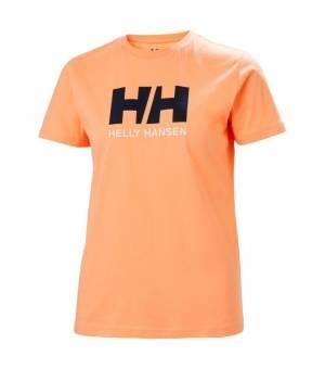 Helly Hansen Logo T-Shirt W Tričko oranžové