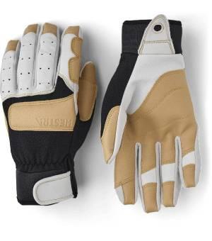 Hestra Climbers Lonf Offwhite/Black rukavice