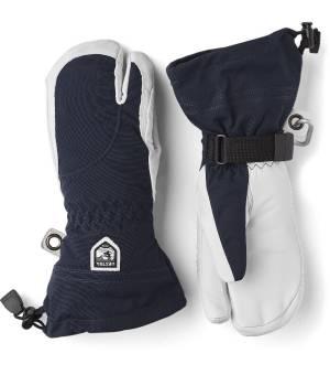 Hestra Heli Ski Female 3 Finger Navy/Offwhite rukavice