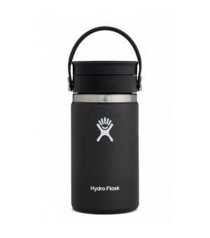 Hydro Flask 12 OZ Wide Mouth W Flex Sip Lid Black fľaška