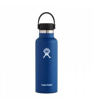 Hydro Flask 18 OZ Standard mouth With Flex Cap Cobalt fľaška