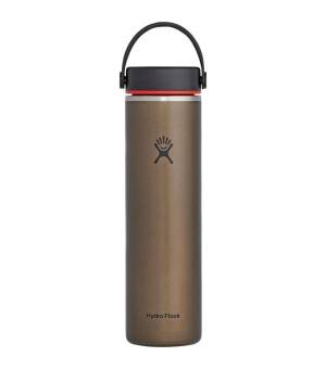 Hydro Flask 24 OZ Lightweight W Wide Flex Cap Obsidian fľaška
