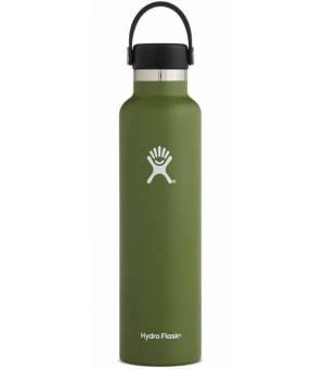 Hydro Flask 24 Oz Standard Mouth W Flex Cap Olive fľaša