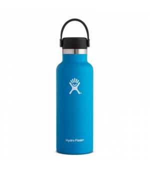Hydro Flask 18 Oz Standard Mouth With Flex Cap Pacific fľaša