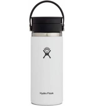 Hydro Flask 16 Oz Wide Mouth W Flex Sip Lid White fľaša
