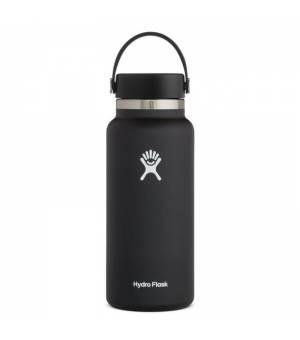 Hydro Flask 32 Oz Wide Mouth 2,0 Flex Cap Black fľaša