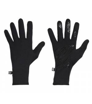 Icebreaker Adult Quantum Gloves Black rukavice