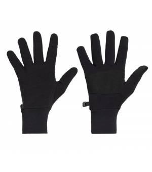 Icebreaker Unisex Realfleece®  Sierra Gloves Black rukavice