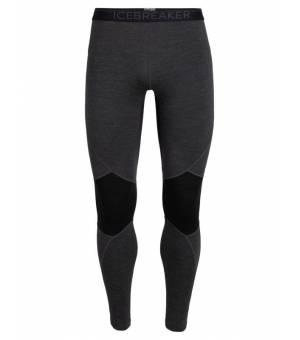 Icebreaker M Bodyfitzone™ 260 Zone Thermal Leggings Jet Heather/Black legíny