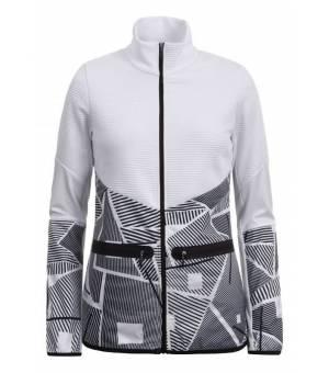 Icepeak Enid W Jacket White / Black mikina