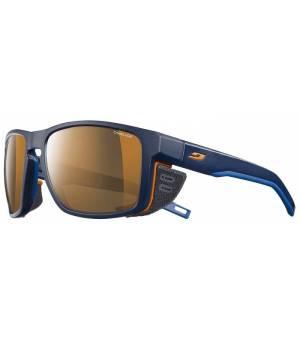 Julbo Shield REACTIV High Mountain 2-4 dark blue/orange okuliare