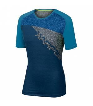 Karpos Croda Rossa M Jersey insignia blue/dresden blue tričko