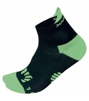 Karpos Lavaredo Socks black/green fluo ponožky