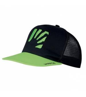 Karpos Catta Cap black/karpos green šiltovka