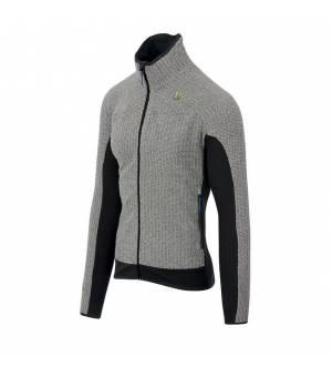 Karpos Rocchetta M Fleece light grey/dark grey mikina