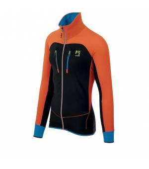 Karpos Alagna Evo M Jacket tangerine tango/dresden blue/black bunda