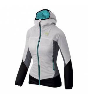 Karpos Lagazuoi W Jacket white/black grey bunda