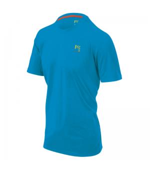 Karpos Botton D´Oro M T-Shirt dresden blue/prnt 3 tričko