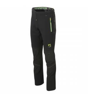 Karpos Ramezza Light Pant black/green fluo nohavice
