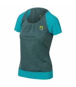 Karpos Pian Di Cengia W T-Shirt bluebird tričko