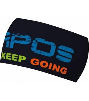Karpos Pelmetto Headband black/indigo bunting čelenka