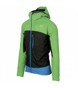 Karpos Lot Rain M Jacket apple green/black/bluette bunda