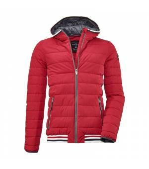 Killtec Ventoso M Quilted Jacket Red bunda