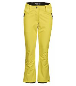 Killtec Jilia W Softshell Ski Pants Yellow Nohavice