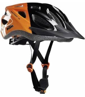 KTM Factory Youth cyklistická prilba oranžová/čierna