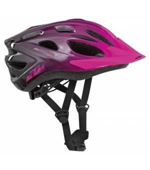 KTM Factory Youth cyklistická prilba ružová