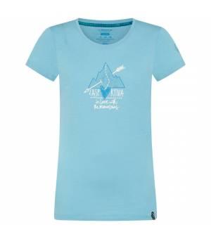 La Sportiva Alakay W T-Shirt pacific blue tričko