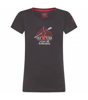 La Sportiva Alakay W T-Shirt carbon tričko