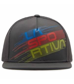 La Sportiva Trucker Hat Stripe Evo carbon šiltovka