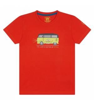 La Sportiva Van K T-Shirt poppy tričko