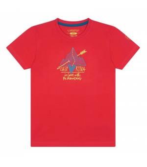 La Sportiva Alakay K T-Shirt hibiscus tričko