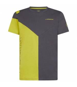 La Sportiva Dru M T-Shirt carbon/kiwi tričko
