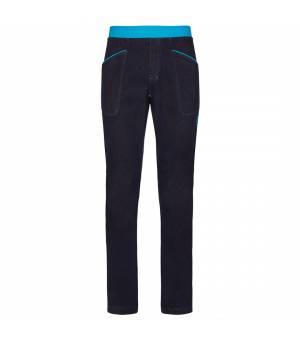 La Sportiva Cave M Jeans blue nohavice