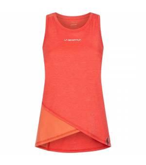 La Sportiva Look W Tank hibiscus/flamingo tielko