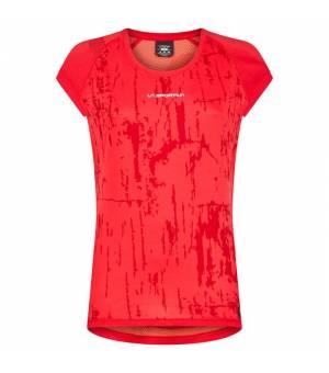 La Sportiva Core W T-Shirt hibiscus/flamingo tričko