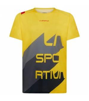 La Sportiva Stream M T-Shirt yellow/carbon tričko