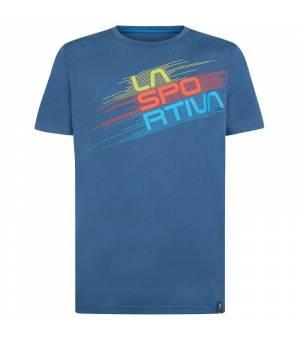 La Sportiva Stripe Evo M T-Shirt opal tričko