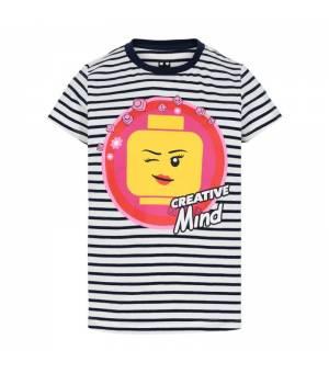 Lego M12010072 T-Shirt S/S Jr White tričko